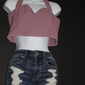 NWT KENDALL AND KYLIE CROP TOP